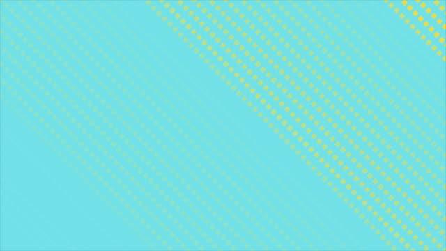 minimal geometrisk pastellabstrakt rörelsebakgrund med små rutor - turkos blå bildbanksvideor och videomaterial från bakom kulisserna