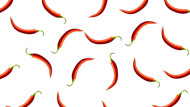 Minimal motion design Chili pepper animation Minimal motion design animation. Hot Chili pepper wiggle and move at color background. Abstract graphics in trendy colors and style. Seamless looping animation. chili pepper stock videos & royalty-free footage