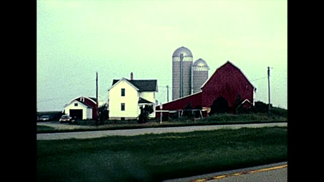 Minnesota State Highway in 1970s