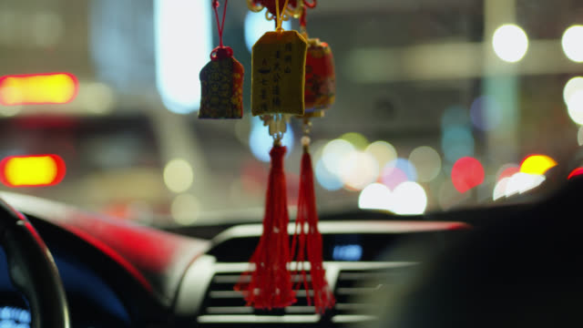 Mirror Charm in Taipei Taxi