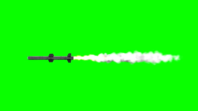Missile Green-Box (Loopable) Military Missile nuclear missile stock videos & royalty-free footage
