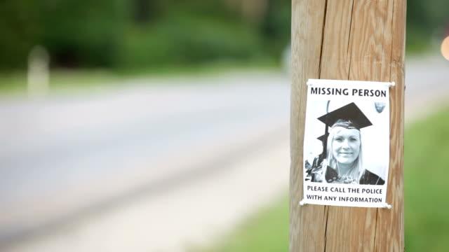 missing person - saknad känsla bildbanksvideor och videomaterial från bakom kulisserna