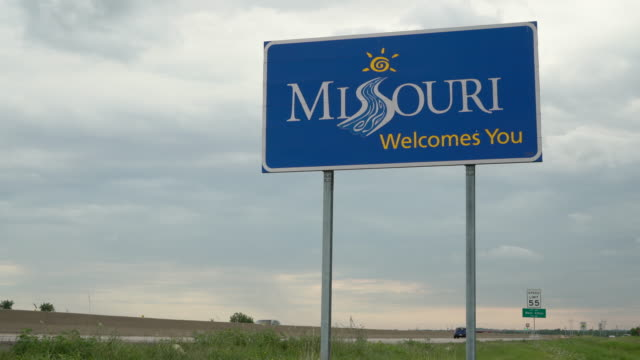 missouri welcomes you - missouri стоковые видео и кадры b-roll