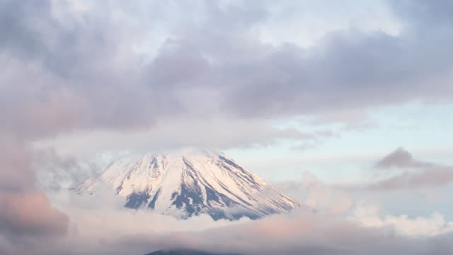 Mist of Mount Fuji video