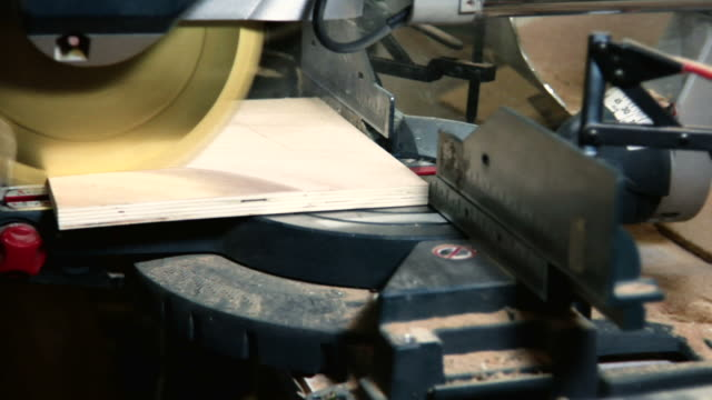 Miter Saw Cutting Board Dolly Toward MS video