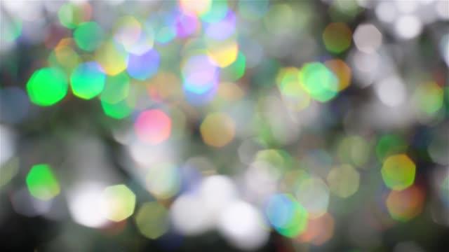 スペクトルのサイケデリックな色、虹色に輝くホログラムの箔のミックス。 - 玉虫色点の映像素材/bロール