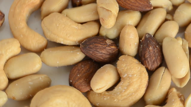 Mix Snack Mix Snack Nut, Almond,Cashew Nut. snack stock videos & royalty-free footage