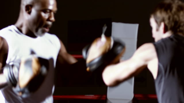 Mixed martial arts training. video