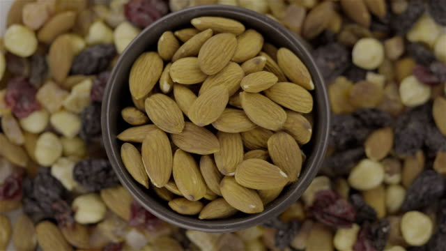 Mixed Nuts and Dried Almond - Loopable 4K video video