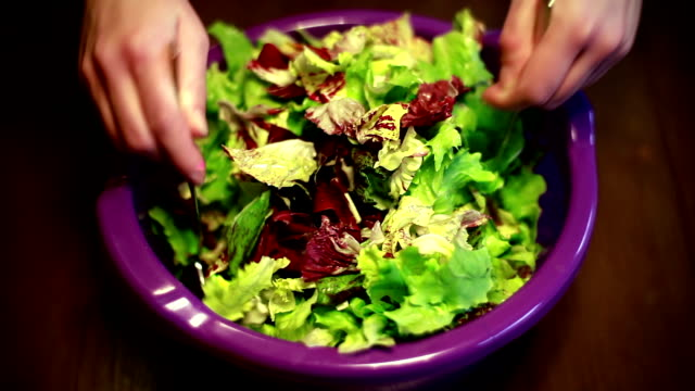 Mixing the Salad