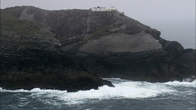 Mizen Head  - Aerial View - Munster,  Cork,  helicopter filming,  aerial video,  cineflex,  establishing shot,  Ireland video