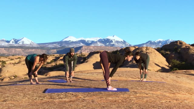 Moab Utah Outdoor Yoga video