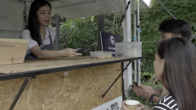 Mobile Contactless payment 4K video