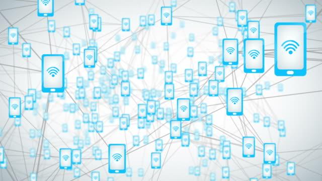 モバイルインターネット - 豊富点の映像素材/bロール