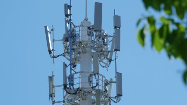 5G Mobile phone base station Tower