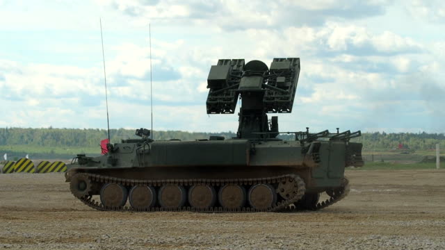 Mobile Surface-to-Air Missile System video