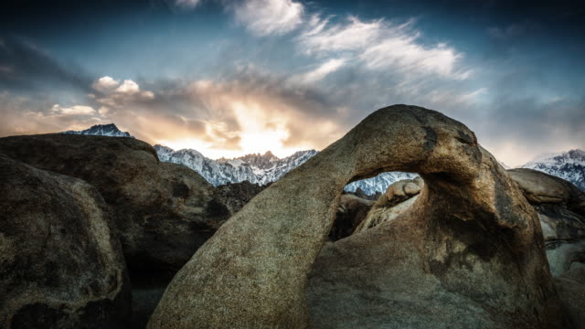Mobis Arch at sunrise, Time Lapse video