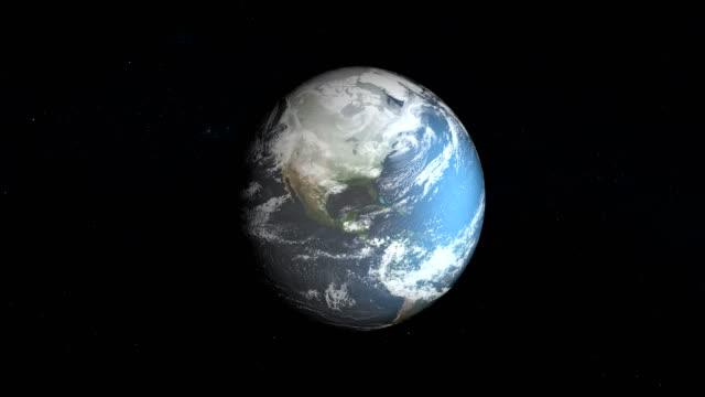Model of ice sheet on Earth. Nasa Public Domain Imagery