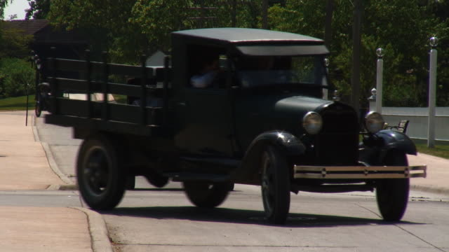 model t 03 - vintage architecture stock videos & royalty-free footage