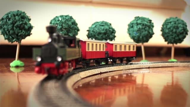 Royalty Free Toy Train Set Hd Video 4k Stock Footage B Roll Istock