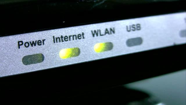 vidéos et rushes de modem - cadran