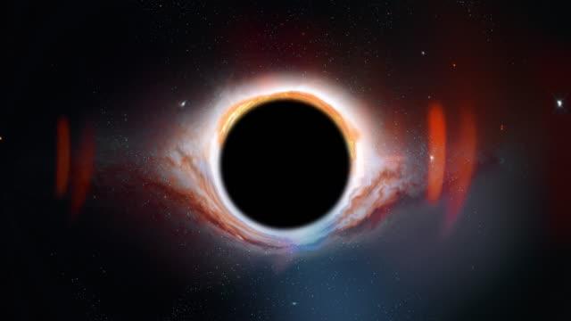 modern back hole - czarna dziura filmów i materiałów b-roll
