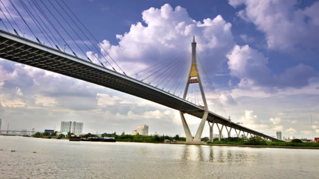 modern bridge - french architecture stock videos & royalty-free footage