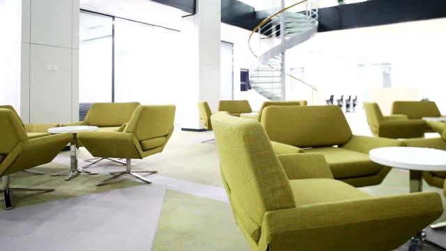 modern business office interior,timelapse. video