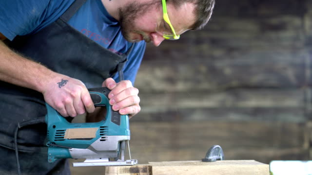 modern carpenter at work video