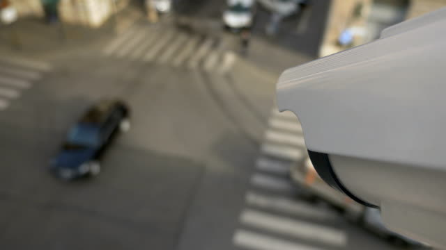 現代のcctv顔認識技術 - なりすまし犯罪点の映像素材/bロール