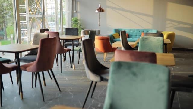 現代咖啡店 - cafe 個影片檔及 b 捲影像