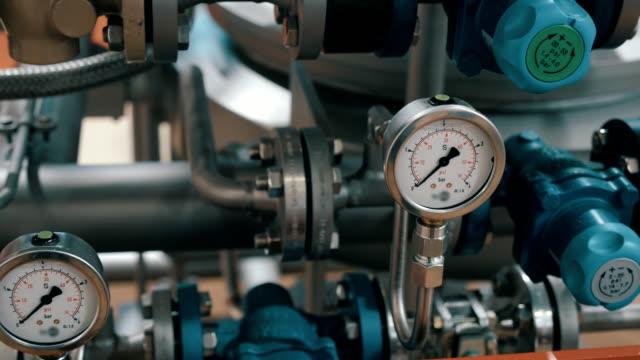 Modern complex technological industrial equipment video