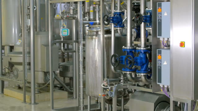 Modern complex technological industrial water purification equipment Modern complex technological industrial water purification equipment. FullHD. purified water stock videos & royalty-free footage