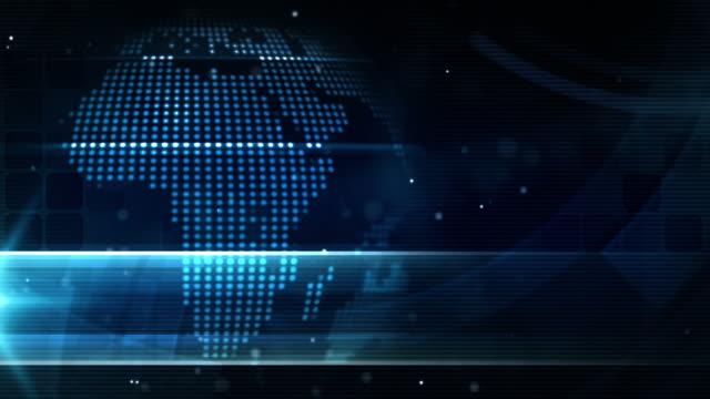 Modern Earth Loop - Night Glow Blue (Full HD) video