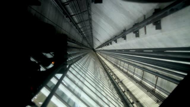 Moderne Aufzug Schaft HD – Video