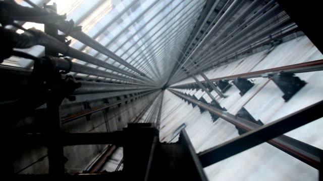Moderne Aufzug Schaft II HD – Video