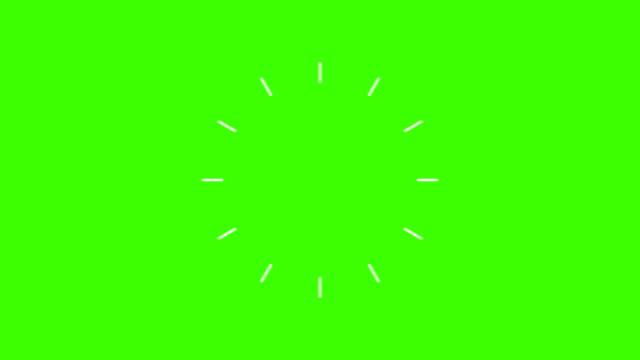 modern flat short animations set effects elements,green screen chroma key for editors