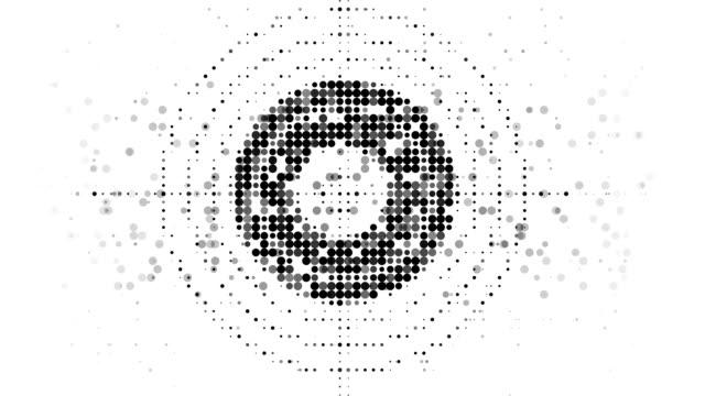TARGET : modern halftone style (LOOP) video