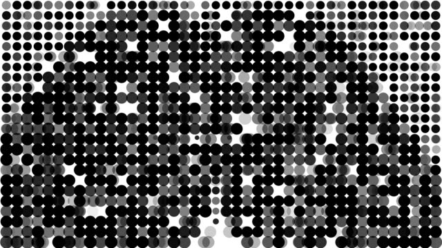 BUTTOCKS : modern halftone style (LOOP) video