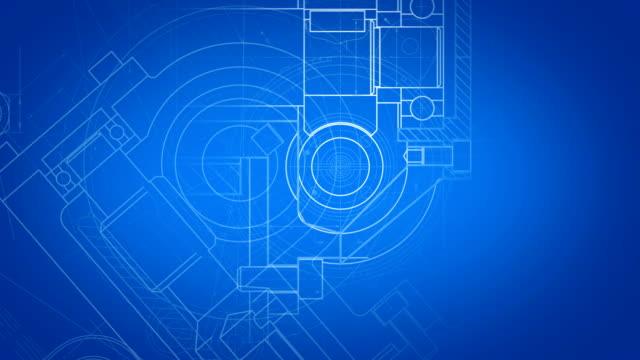 Modern industri Blueprint video
