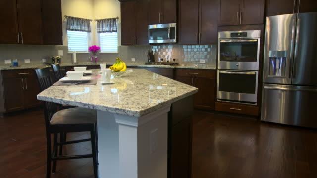 Modern Kitchen Rise Angled Corner