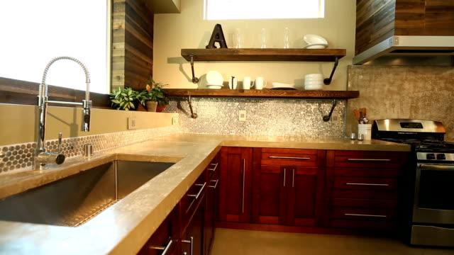 Modern Kitchen Sink Panning Right video