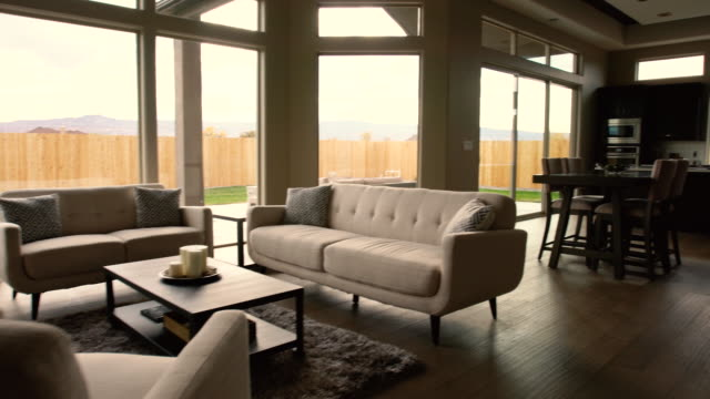 Modern Living Room in a New House video