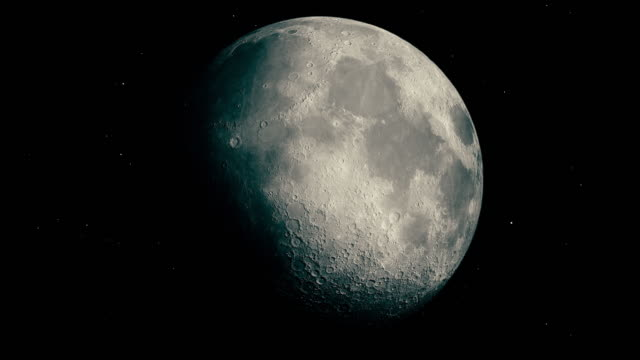 modern moon - astronomia video stock e b–roll