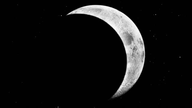 Modern Moon with eclipse video
