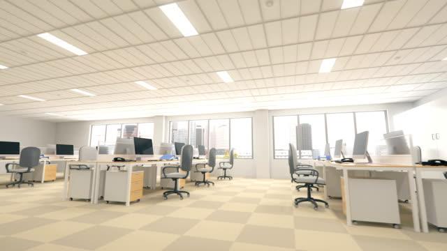 Modern Office Interior video