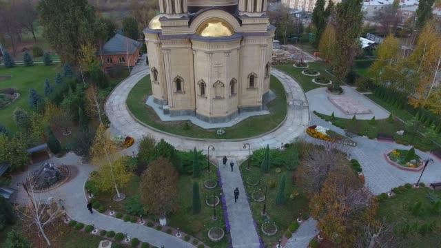 modern orthodox church - country fashion stock videos & royalty-free footage