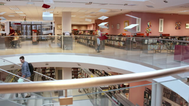 DS Modern public library halls video