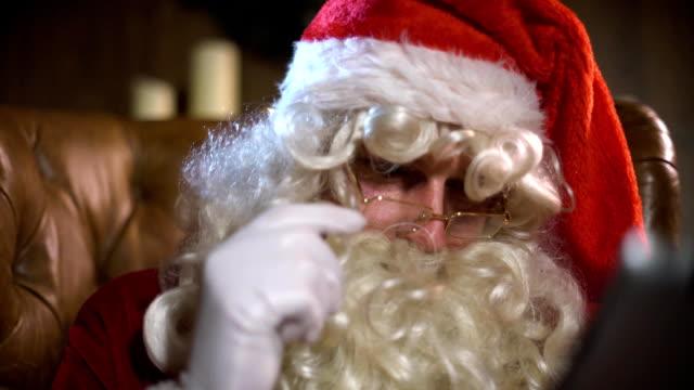 Modern Santa Claus using Digital Pad video