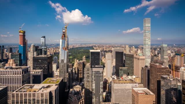 T/L WS HA Modern skyscrapers in Midtown Manhattan / New York City, USA